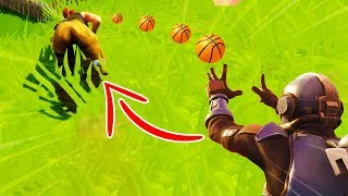 Basketbal kill.. (Fortnite: Battle Royale NEDERLANDS/NL)