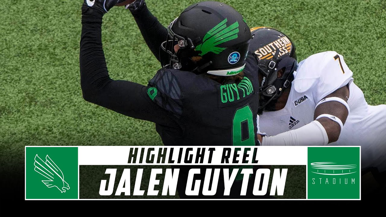 check out dac98 b54e6 Undrafted Free Agent pickup WR Jalen Guyton | Dallas Cowboys ...