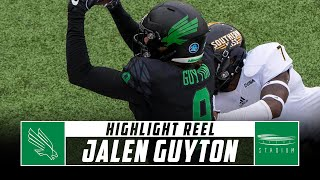 Jalen Guyton North Texas Football Highlights - 2018 Season | Stadium