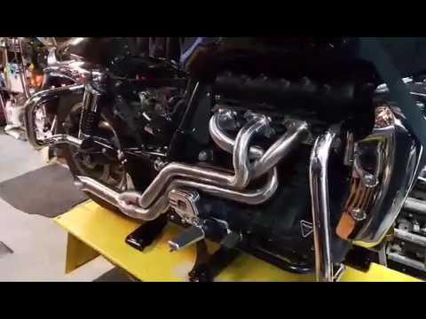 triumph rocket three custom straight pipes sound - youtube