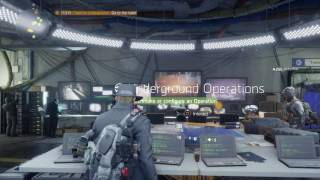 The Division (PS4) - Unlocking The Underground DLC and First Play (Solo)