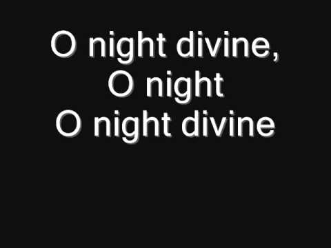 O Holy Night LYRICS