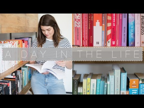 A Day In The Life: Bookshelf Tour | The Anna Edit
