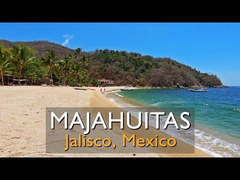 Why visit Majahuitas Beach South of Puerto Vallarta Jalisco Mexico