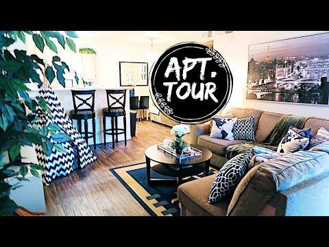 APARTMENT TOUR 2018|| Home Decor on a BUDGET