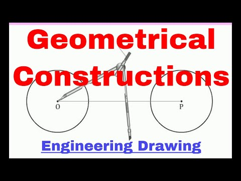Geometrical Constructions  (Engineering Drawing / Engineering graphics)