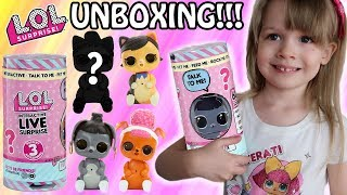 L.O.L. Surprise! Interactive Live Pet - UNBOXING!!! #PetsofLOL