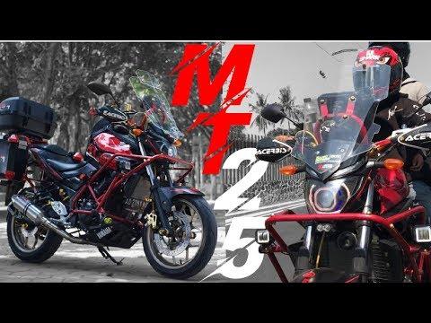 Review Modifikasi Yamaha Mt 25 Touring Youtube