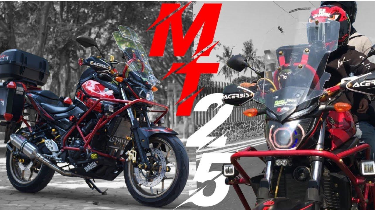 Review Modifikasi Yamaha Mt 25 Touring