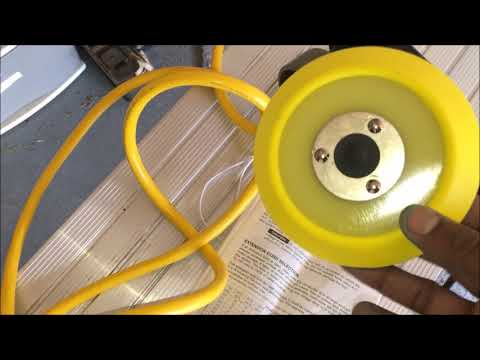 Chemical Guys Products and Rotary Polisher - Porter Cable 7424XP