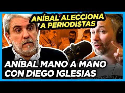 Aníbal le respondió con altura a Diego Iglesias cuando le pidió que se