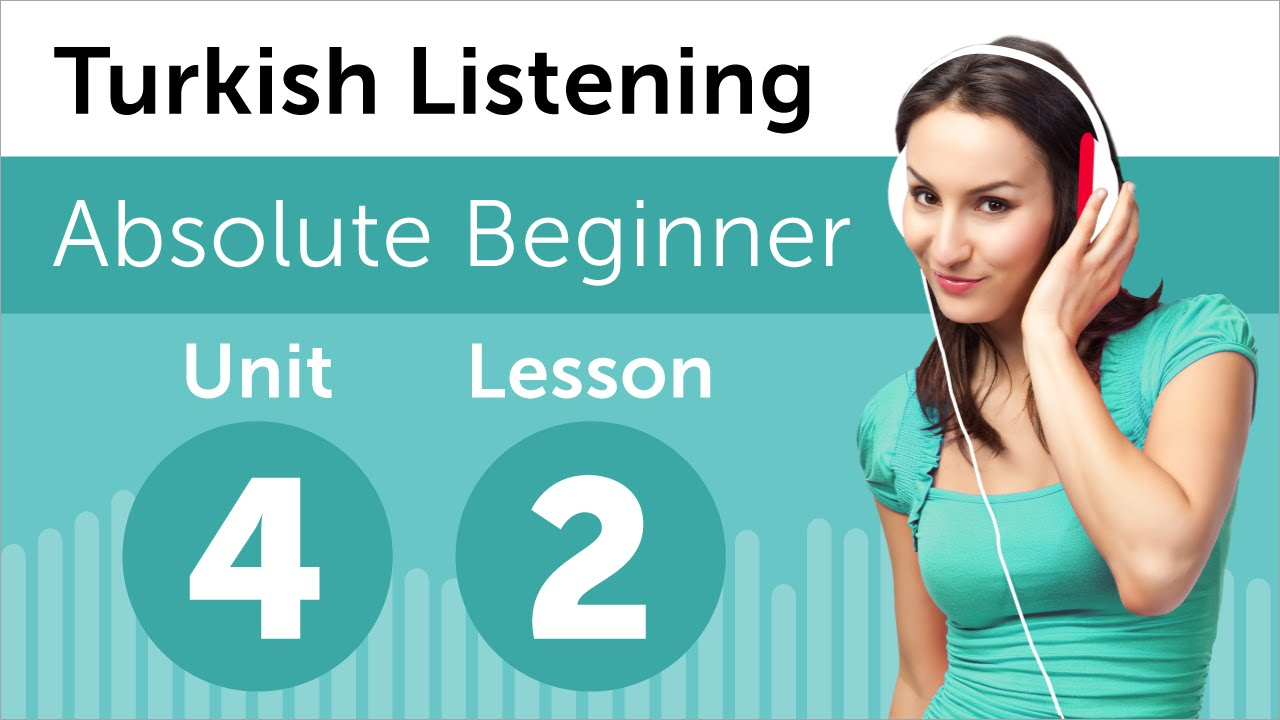 Turkish Listening Practice - Talking About your Age in Turkish
