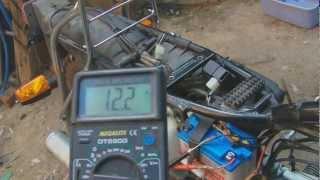 Control de Carga de Bateria de Moto Suzuki Ax 100 12V [HD]