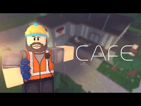 Roblox Bloxburg Cafe Build Youtube