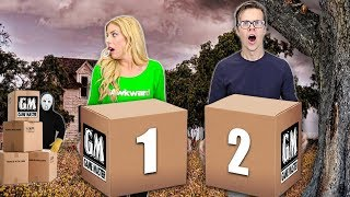 Opening GAME MASTER Mystery Packages in his Abandoned Warehouse! (New Spy Clues & Mysterious Riddles