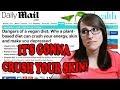 Dangers of a Vegan Diet? (daily mail doodoo)