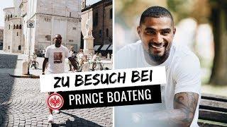 Zu Besuch bei Prince Boateng in Italien