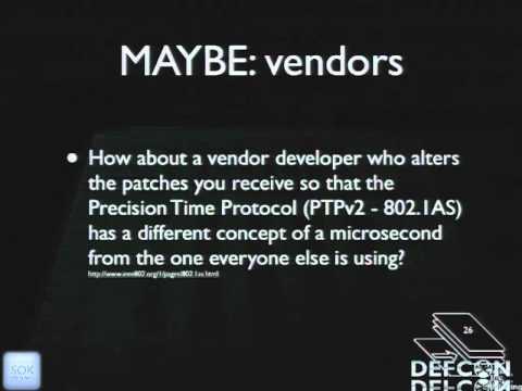 DEFCON 19: Security When Nano Seconds Count