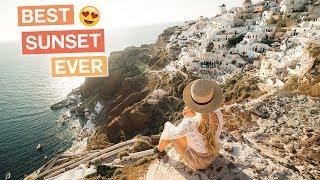 Best Sunset in the World  | Oia, Santorini