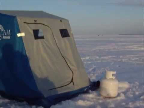 Lake winnipeg 2016 ice fishing youtube for Lake winnipeg fishing report