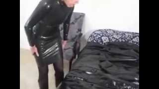 Repeat youtube video Kristine's Kinky Black Mackintosh