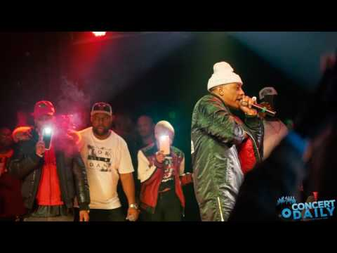 Cassidy performs Im A Hustla  at the Baltimore Soundstage