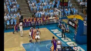 NBA Live 10 Gameplay (PS3) - LA Lakers at Denver Nuggets