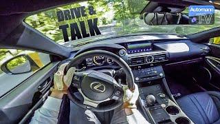 2018 Lexus RC F (477hp) - DRIVE & TALK (60FPS)