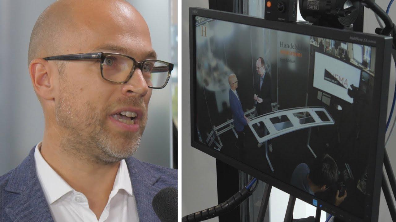 """Video und Paid Content: """"Handelsblatt""""-Digitalchef Sebastian Matthes im Strategie-Gespräch."""