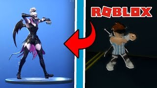 FORTNITE BAILES IN ROBLOX! #2