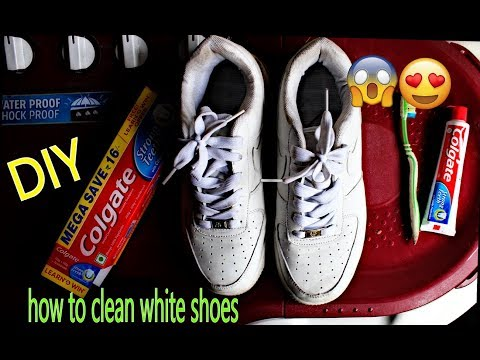 HOW TO CLEAN & WHITEN YOUR SHOES