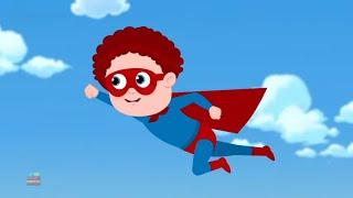 Superhero | Schoolies Cartoon Videos | Nursery Rhymes for Babies