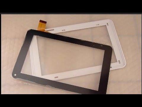 D montage r paration changement cran tactile polaroid for Photo ecran tablette