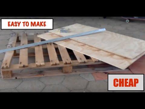 HOW TO MAKE A CHEAP DIY SKATEBOARD GRIND BOX *EASY*