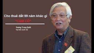 """ĐB Dương Trung Quốc: Cho thuê đất 99 năm chỉ là đưa đất đi  """"CẦM CỐ"""""""