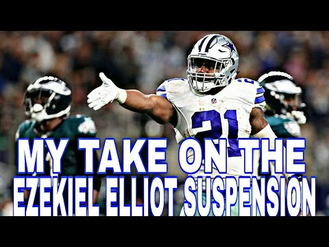 DALLAS COWBOYS FAN REACTS TO EZEKIEL ELLIOT SUSPENSION!!