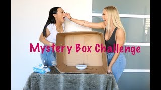 MYSTERY BOX CHALLENGE WITH MY SISTER TAMMY HEMBROW!!!