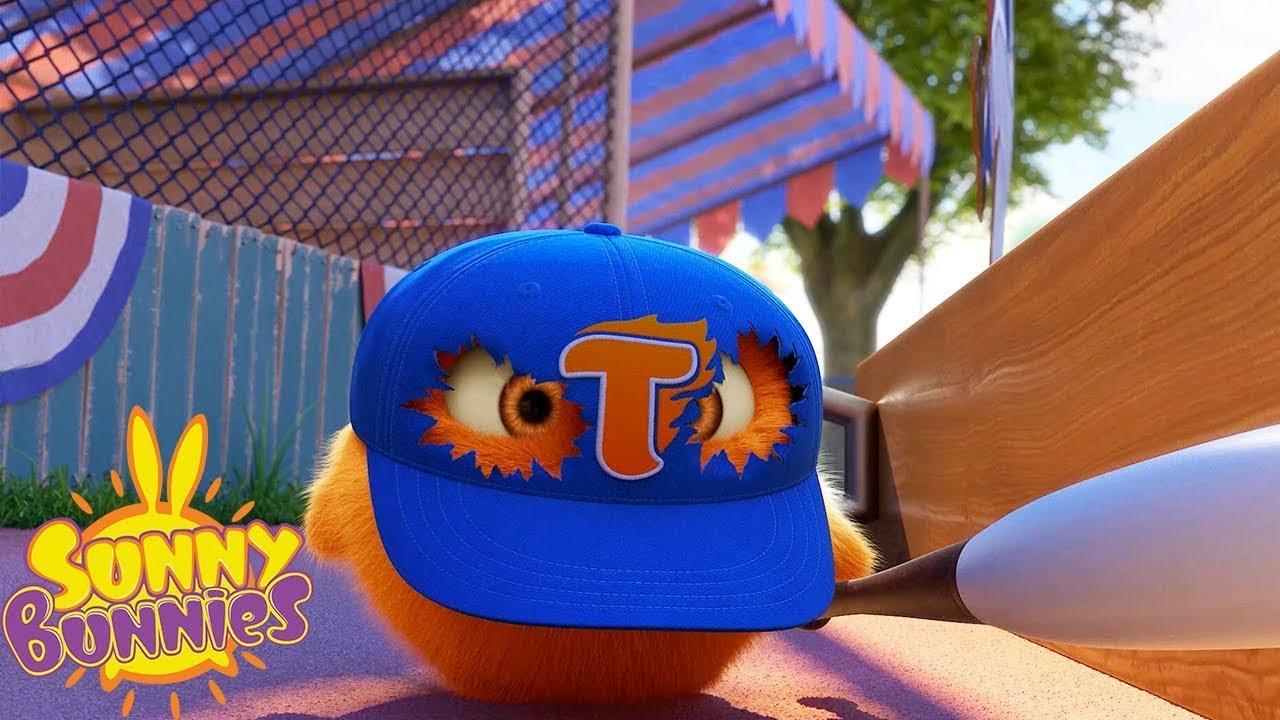Jogo de baseball   Sunny Bunnies   Desenhos animados para crianças   WildBrain em Português