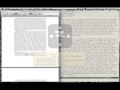 Plain Text Note and Citation Management