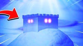 the CASTLE on the ICEBERG has a SEASON 7 SKIN inside! - Fortnite Castle UPDATE!