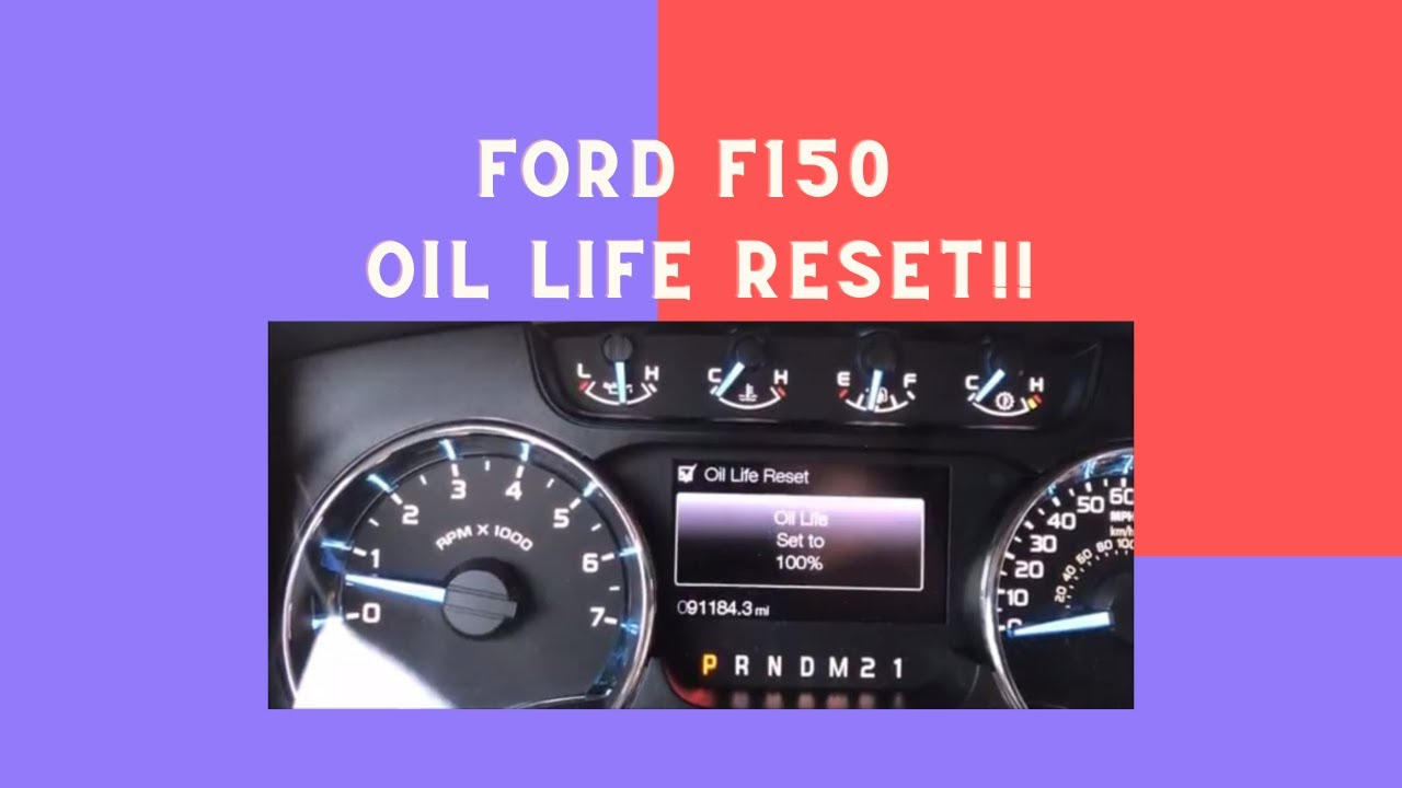 2011 f150 oil change reset
