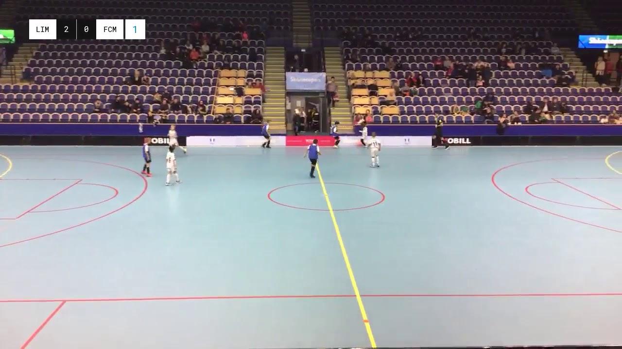 Limhamns FF vs. FC Möjligheten, final uppvisningsmatch på Skånecupen 6/1