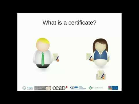 Grid Computing Tutorials: 1 Certificates