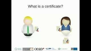 Grid Computing Tutorials: 1 Certificates