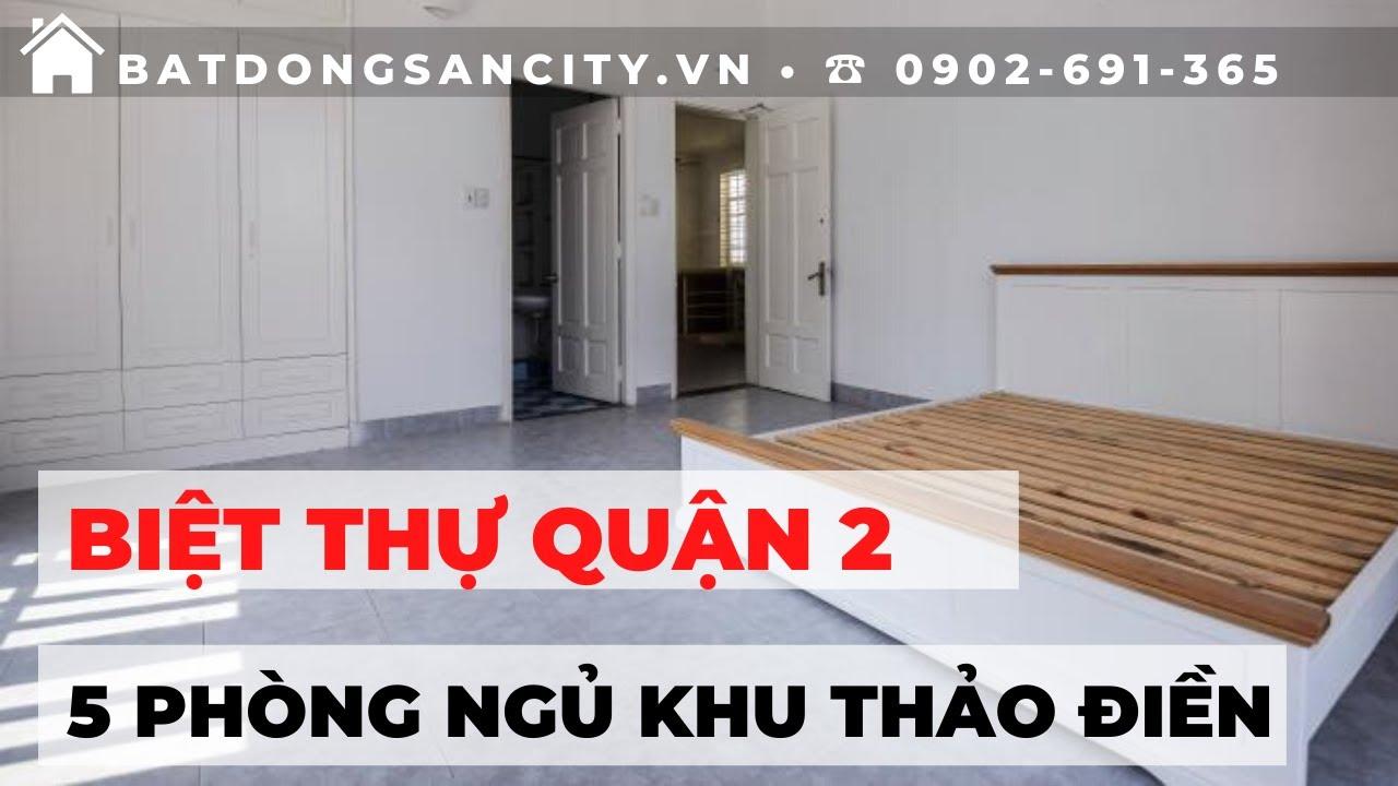 Cần bán biệt thự 1 lầu khu Đường Số, Thảo Điền, Quận 2   Hotline 0902691365
