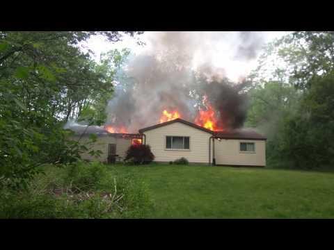 Brighton Michigan House Fire 5/29/17