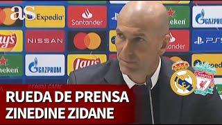 REAL MADRID 3 - LIVERPOOL 1 | Rueda de prensa de Zinedine Zidane