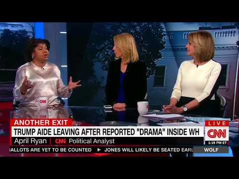 April Ryan: Omarosa's White House Departure Was 'High Drama'