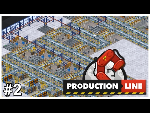 Production Line [Alpha] - #2 - Three Second Car - Let's Play / Gameplay / Construction