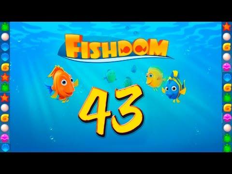 Fishdom: Deep Dive level 43 Walkthrough